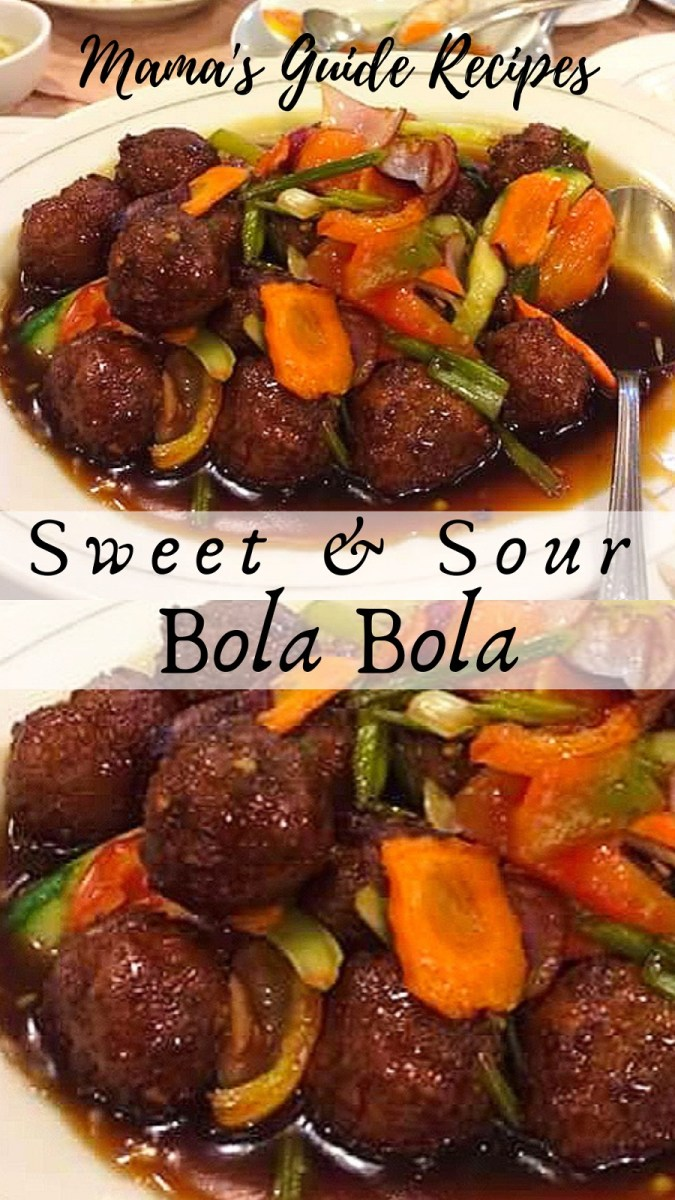 SWEET AND SOUR BOLA BOLA